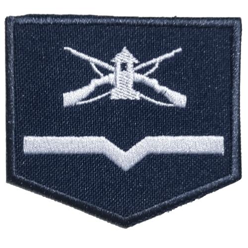 Divisa Azul de Soldado de Primeira-Classe