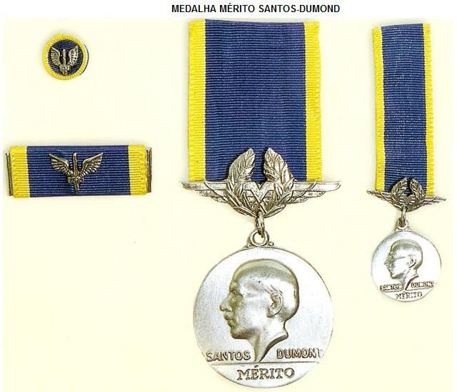 MEDALHA MÉRITO SANTOS-DUMONT