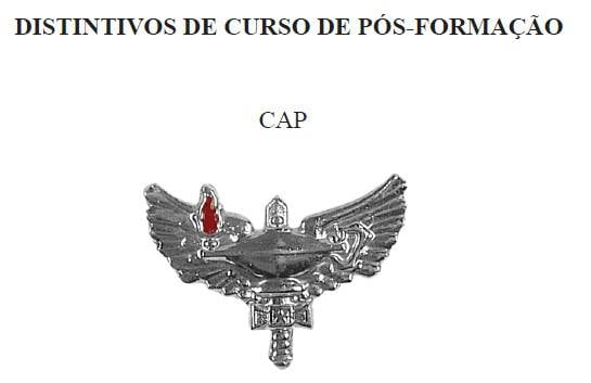 Distintivo do CAP