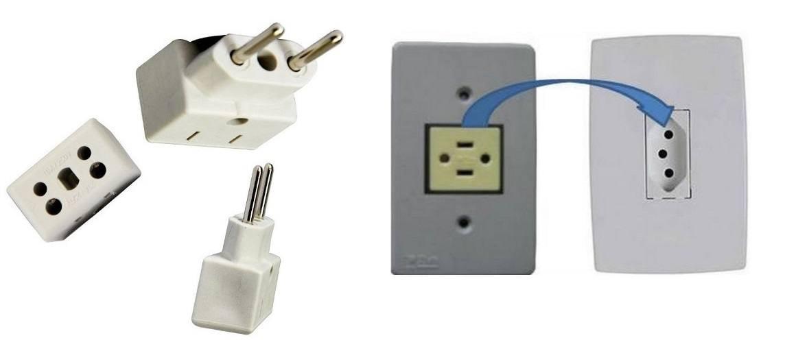 Adaptador para Tomada Elétrica