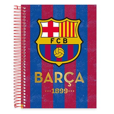 Caderno espiral de 10 matérias