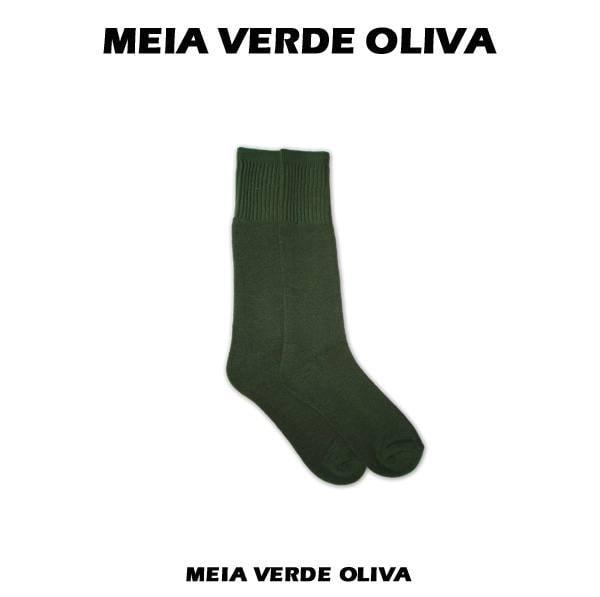 Meia Verde Cano Médio/Alto