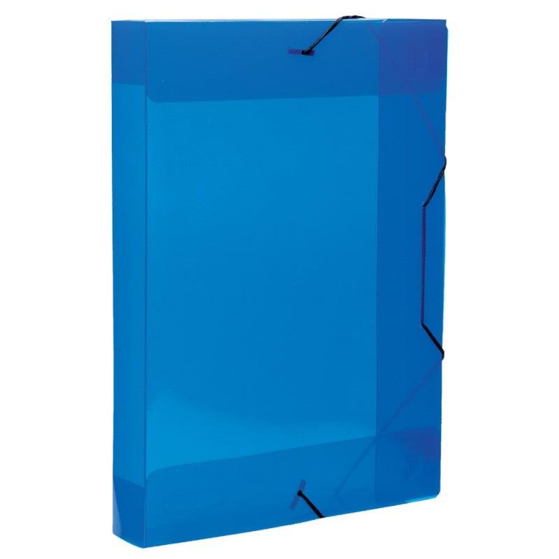 Pasta Azul Transparente para EPCAR