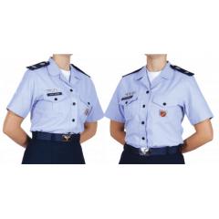 """Canícula Azul Externa Feminina para Oficiais - 7º Uniforme """"A"""""""