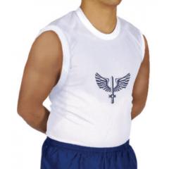 Camisa de educação física sem manga (FAB)