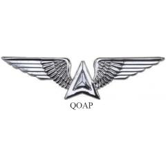 Brevê QOAP - Quadro de Oficiais de Apoio da Aeronáutica