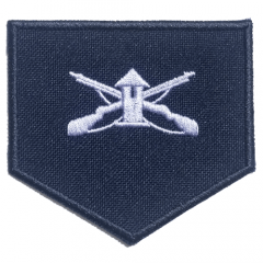 Divisa Azul de Soldado de Segunda-Classe