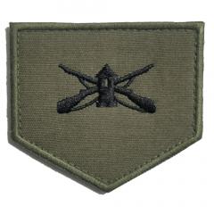 Divisa Verde de Soldado de Segunda-Classe