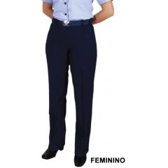 Calça Azul Feminina da Aeronáutica (SEM BAINHA)