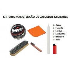 Kit para Manutenção de Coturno e Sapato