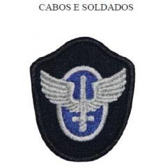 Crachá Bordado para Quepe de Cabos e Soldados da Aeronáutica