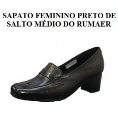 Sapato Preto Feminino da Aeronáutica _ NEFTALI