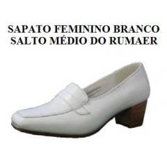 Sapato Feminino Branco da Aeronáutica - NEFTALI