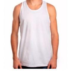 Camiseta Branca sem Manga