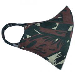 Máscara Camuflada do Exército (Dupla Face Camuflada)