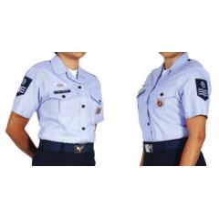 """Canícula Azul Externa Feminina para Sargentos - 7º Uniforme """"A"""""""